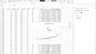 Normal Quantile (Q-Q) Plots In Excel Part 2