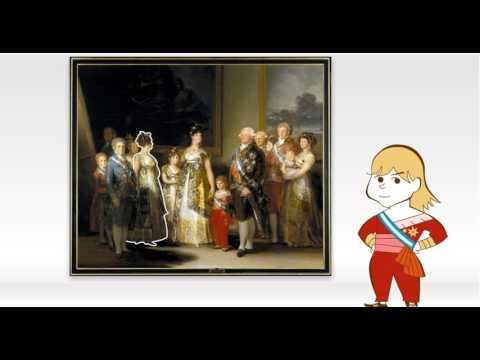 Obra Comentada: La familia de Carlos IV, de Goya - YouTube