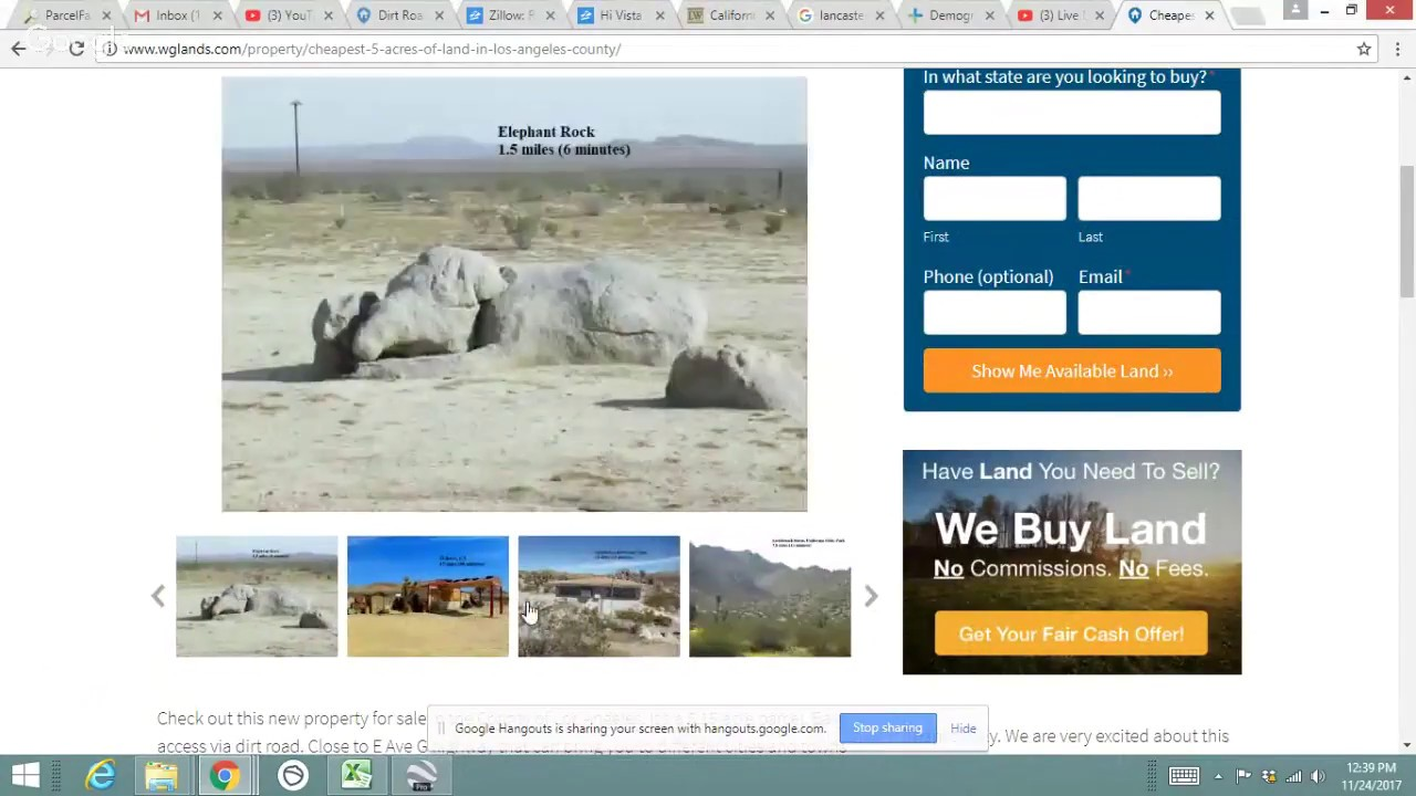 Land For Sale - Lancaster California Los Angeles County 5 Acres