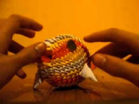 3d Origami Koi Fish Not A Tutorial Youtube