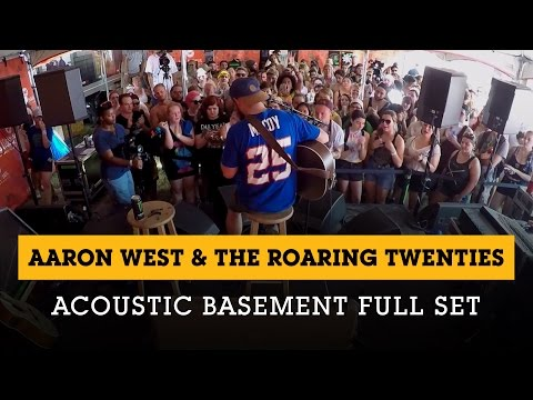 Aaron West & The Roaring Twenties - Acoustic Basement 7.5.15 Full Set