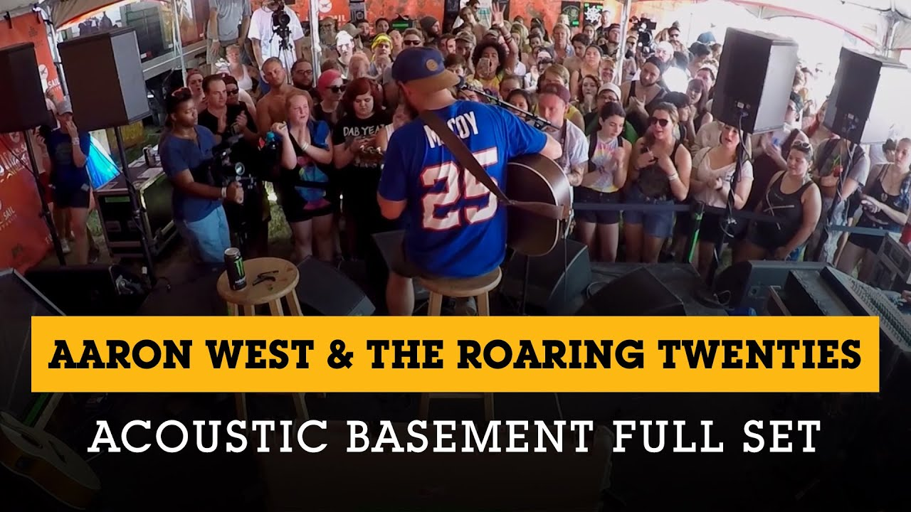 Aaron West U0026 The Roaring Twenties   Acoustic Basement 7.5.15 Full Set