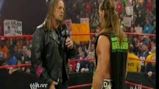 WWE Monday Night Raw 2010-01-04 Bret Hart Returns Part 2