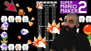 This Boss is Ruthless - Mario Maker 2: No Skip Endless Super Expert #25