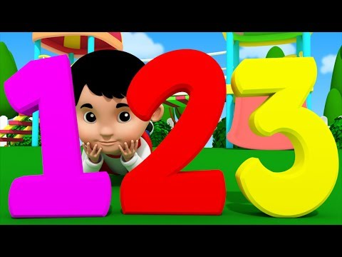 Number Song | Cartoon Videos For Toddlers | Nursery Rhymes For Children by Kids Tv