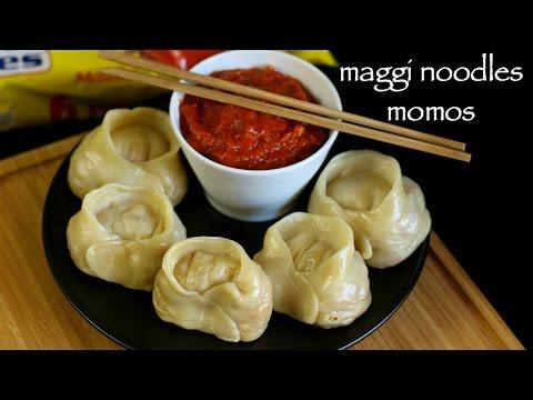 maggi noodle momos recipe | veg noodles momos recipe | veg momos recipe