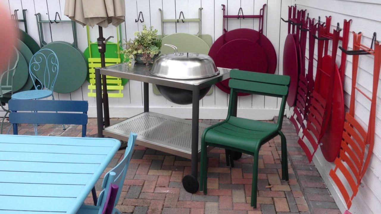 Fermob Patio Furniture And Dancook Grills European Design Modern Look Feel