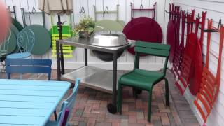 Fermob Patio Furniture And Dancook Grills - European Design, Modern Look And Feel