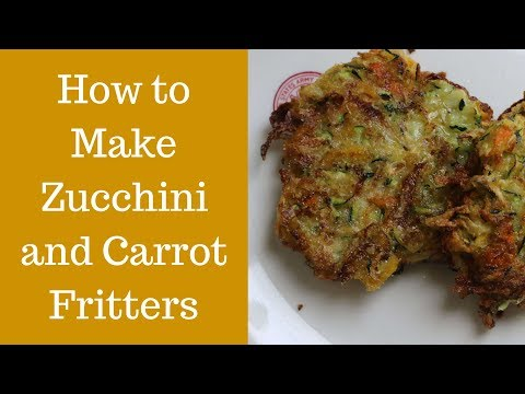 How to Make Zucchini and Carrot Fritters | Easy Appetizer Recipe Video
