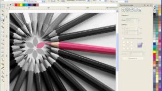 Уроки CorelDRAW: цвет на черно-белой фотографии