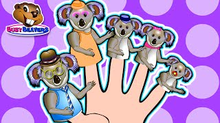 Finger Family Koalas | Teach English To Children, Fun Learning Song, Kindergarten Daycare Video