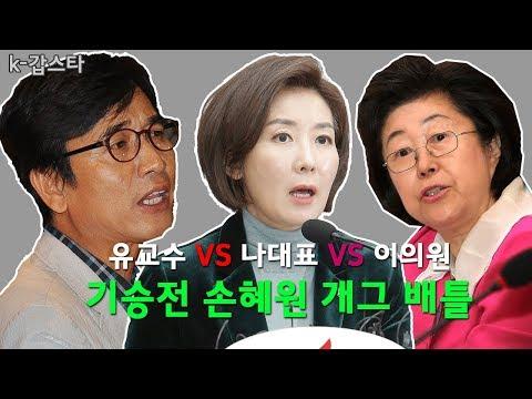 """""""빙상연맹도 초권력형 비리"""" 나 대표의 기승전 손혜원 드립"""