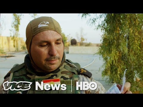 Step Inside An ISIS Base That Was Just Liberated | Retaking Mosul (HBO)