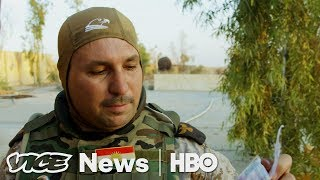Step Inside An Abandoned ISIS Base  VICE News Tonight