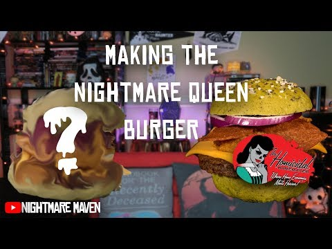 The Nightmare Queen - a Vegan Take on Burger King's Nightmare King