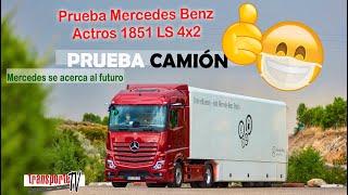Prueba Mercedes Actros 1851 LS 4x2