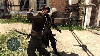 Assassin's Creed IV Weird Glitch in Lively Havana