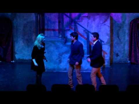 Hamlet making her friends swear to secrecy