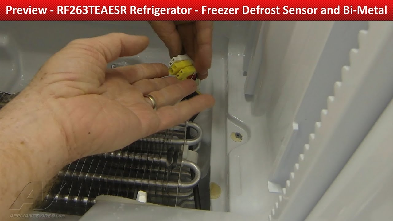 Freezer Defrost Sensor Amp Bi Metal Thermostat Frosting Up