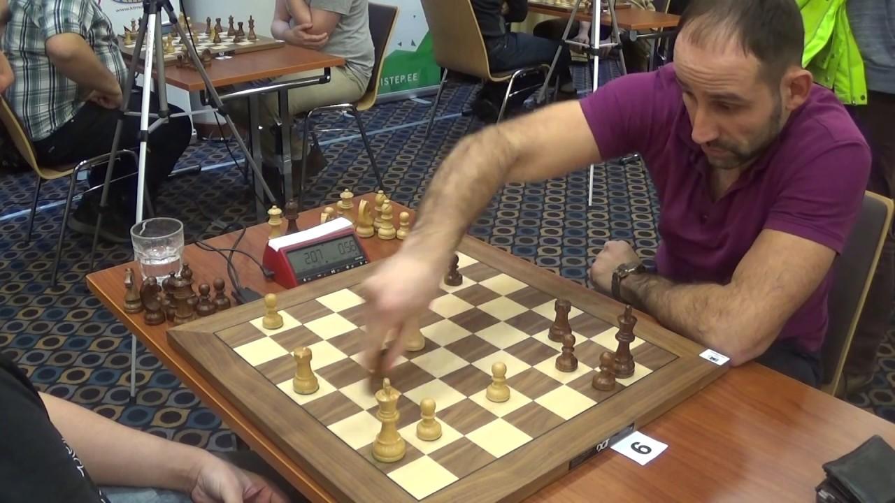 GM Alexander Fier - Robert Dubrovin, French defense, Blitz chess