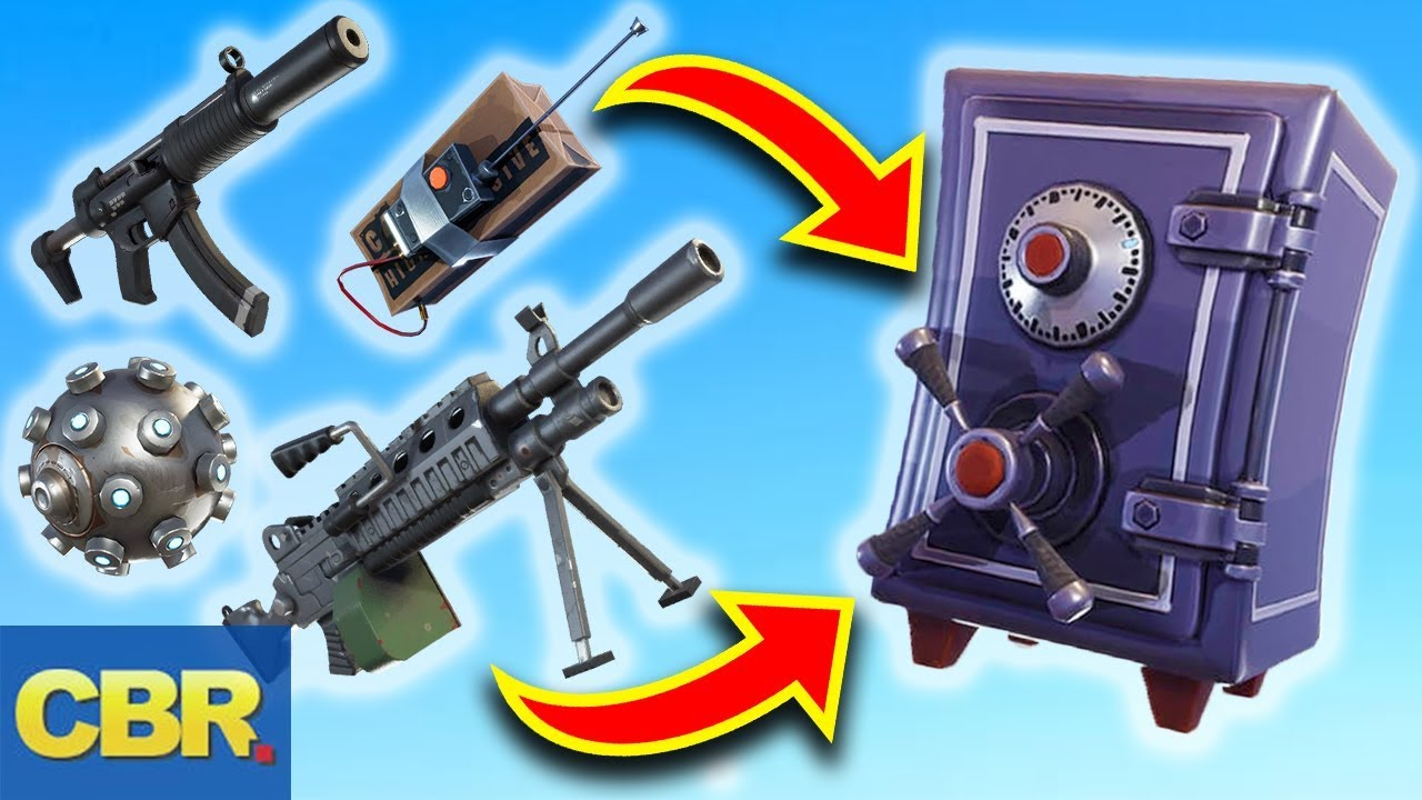This Is Why Fortnite Vaulted Those Weapons For Season 6 Youtube