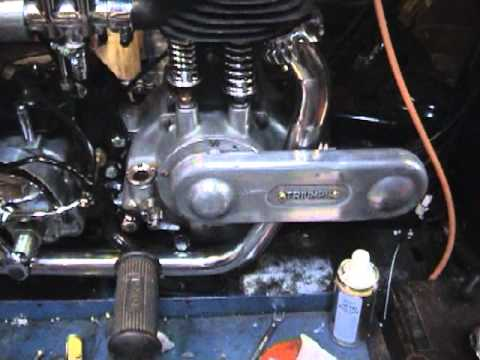 building a 1928 model n triumph delux (part 7) - youtube