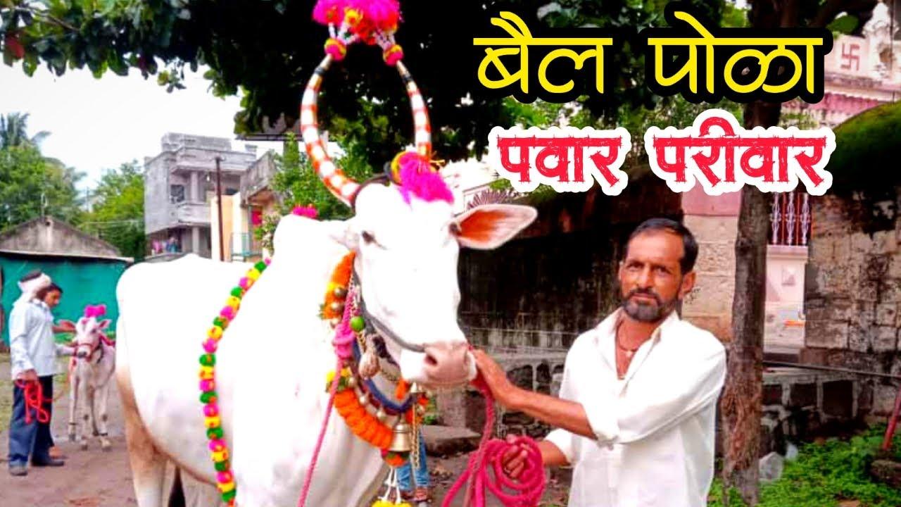 बैल पोळा   महाराष्ट्रीय बेंदूर 2021   श्री दीपक पवार   सातारा #Khillar #Bull #बैलपोळा