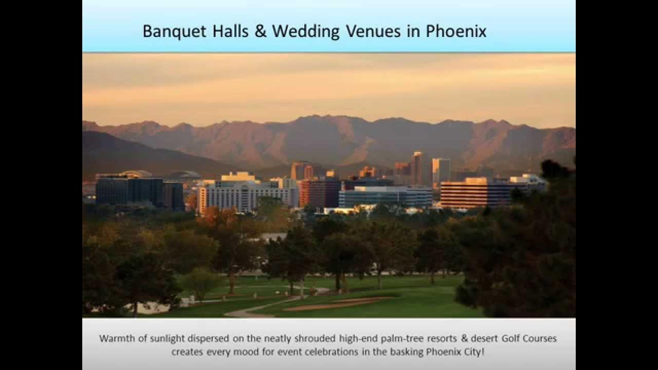 Banquet Halls Party Halls Wedding Venues In Phoenix Az Youtube