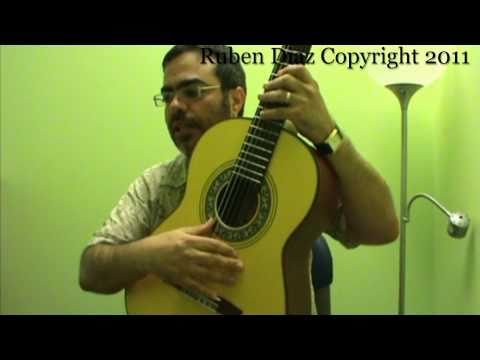 The Code of Flamenco Guitar 3/The Art of Commanding  flamencoguitarlessons.eu/  Ruben Diaz