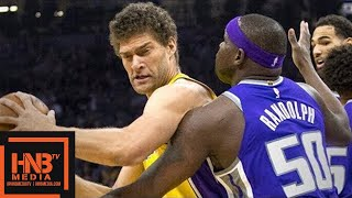 Los Angeles Lakers vs Sacramento Kings 1st Half Highlights / Feb 24 / 2017-18 NBA Season