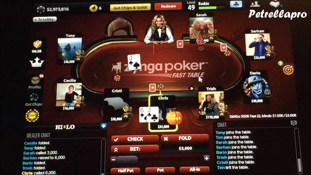 Texas holdem training program
