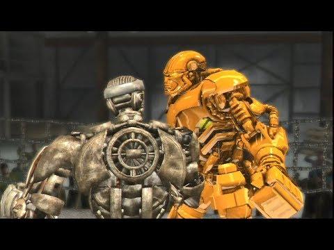 REAL STEEL THE VIDEO GAME [XBOX360/PS3]- Golden ATOM vs Golden ZEUS - 동영상