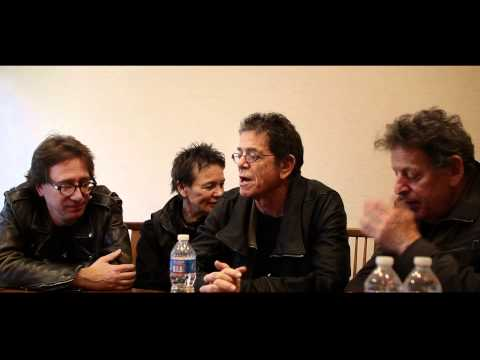Interview with John Zorn, Laurie Anderson, Lou Reed and Philip Glass - Concert for Japan