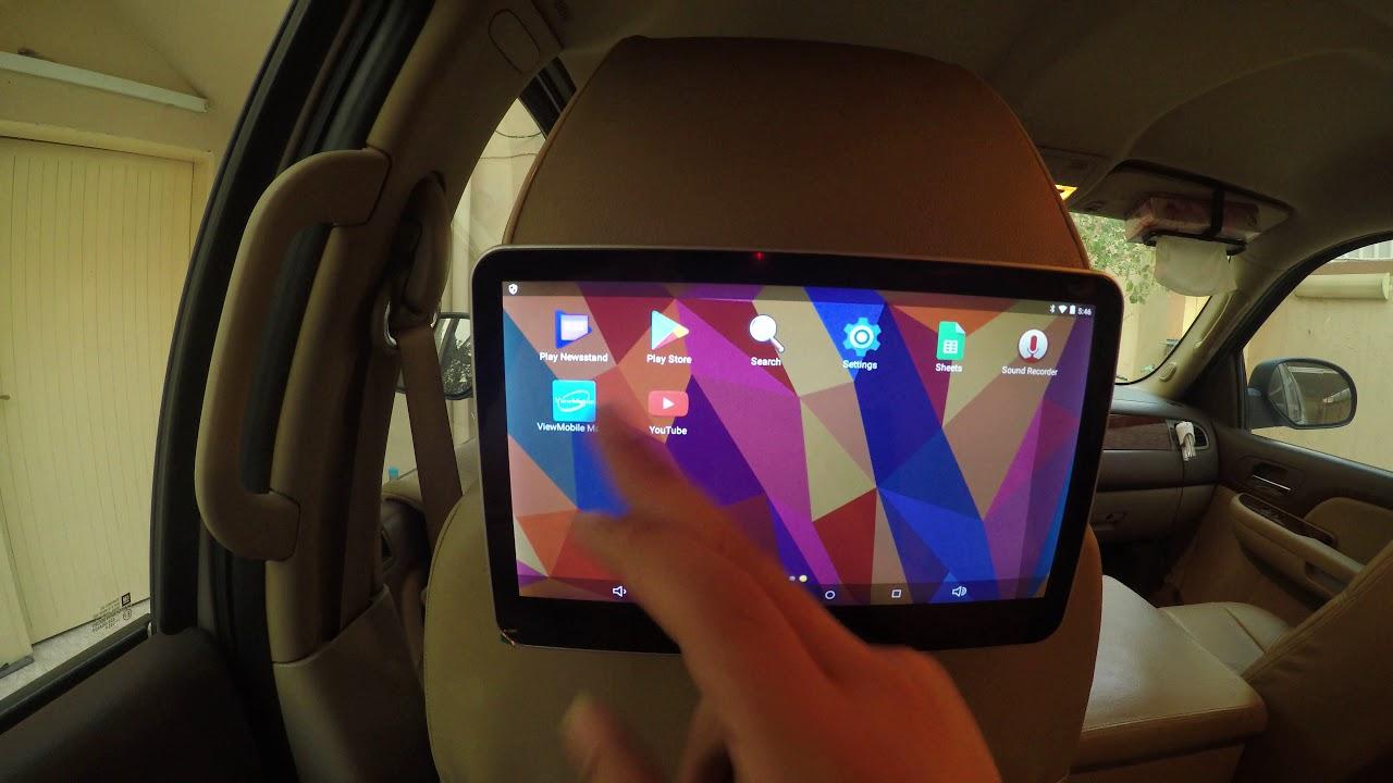 افضل شاشات للمقاعد الخلفية اندرويد للسيارات Youtube