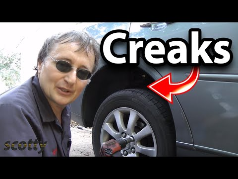 How to Fix a Car that Creaks in the Back (Sway Bar Bushings)