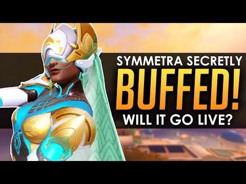 Overwatch: SYMMETRA SECRETLY BUFFED! - Will It Go Live?