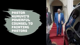 Pastor Kumuyi talks of pastors that give up easily