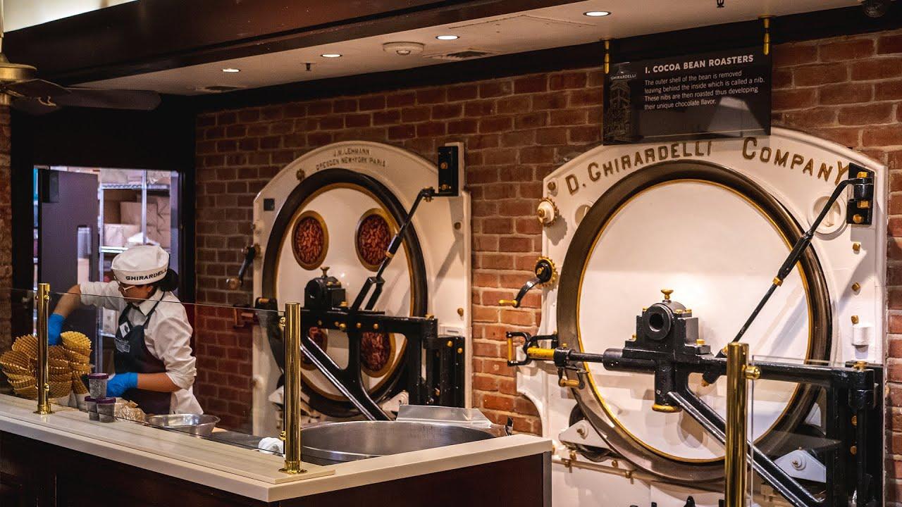 Ghirardelli Chocolate Factory San