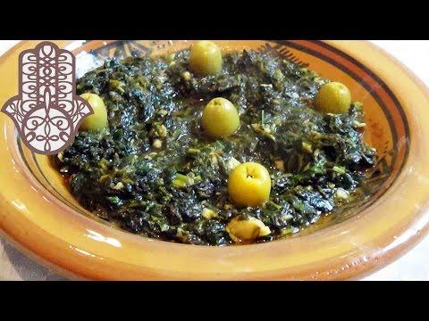 salade-d'épinard-à-la-marocaine