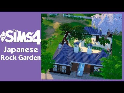 The Sims 4 - Japanese Rock Garden   SimValera