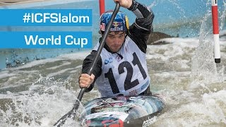 REPLAY : C1M & C1W & K1M Canoe Slalom Finals - Liptovsky 2015