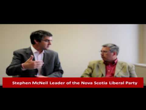 Stephen McNeil Leader of The Nova Scotia Liberal Party