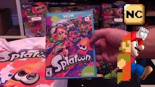 Wii U is Awesome: Splatoon + 3 Pack Amiibo Unboxing | Nintendo Collecting