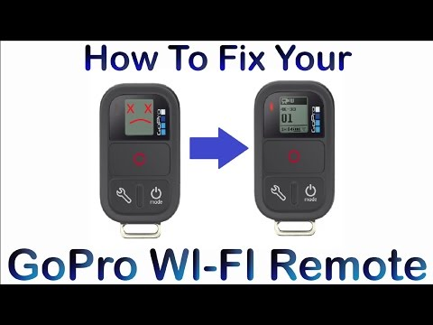 How To Fix Non Working/Charging GoPro WI-FI Remote