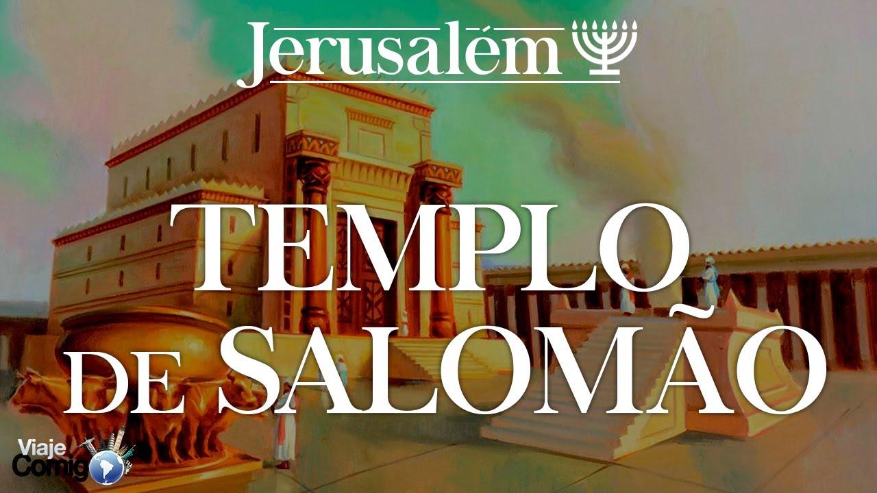 OS SEGREDOS DO TEMPLO DE SALOMÃO - JERUSALÉM | Série Viaje Comigo