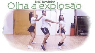 MC Kevinho - Olha a Explosão   Coreografia   Cia. Brown Andrade