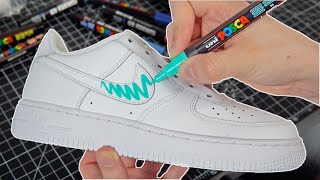 HOW TO CUSTOMIZE SHOES ON A BUDGET! 🖌 ($20 CHALLENGE)