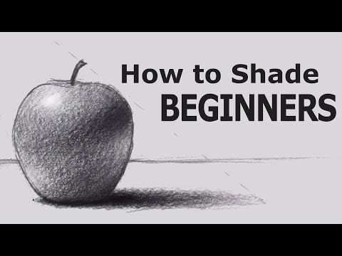 How to Shade with PENCIL for BEGINNERS