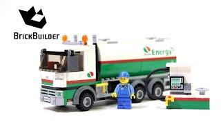 Kijk LEGO City 60016 Tankwagen filmpje