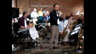 Colorado Swing Big Band at FoCoMX 2016.
